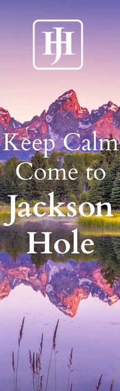 Jackson Hole Reservations invites you to Jackson, Wyoming. Call us at 1-800-329-9205 or visit www.jacksonhole.net to reserve your home away from home. Vacation homes, condos, hotels, resorts...you name it we will find it. Talk to our local agents about how to create a memorable vacation to Jackson Hole.