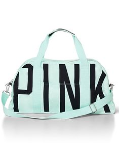 Large Sporty Duffle PINK PERFECT for travel, overnights, workouts, etc