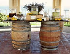 Wine Barrel Bar- river hood rental $60