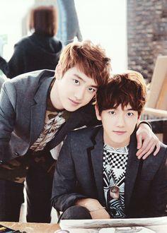 Kyungsoo and Baekhyun