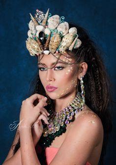 Ocean Queen Crown by Sunrise Color Events on Etsy www.sunrisecolorevents.com
