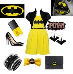 """""""The Caped Cusaider"""" by the-j-dawg on Polyvore  Thinking of making this a collection.."""