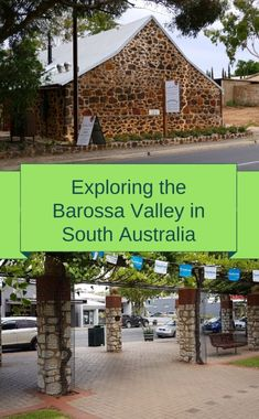 When you are Exploring the Barossa Valley there is so much more to see and do than just the wineries. History and great food is just around every corner. Pheasant Farm, History Of Wine, Shady Tree, Kangaroo Island, Underground Homes, Picnic Area, Old Farm, Old Buildings, South Australia