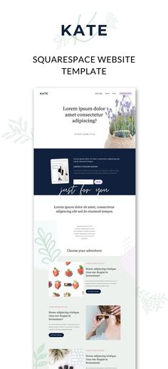 Classic and classy, Kate is the only website template you'll need to grow your essential oil business. The Kate is perfect for aromatherapists and doterra business builders who want to build their business online! #WebsiteTemplates #WebDesign #HealthAndWellnessSiteDesign Website Design Layout, Website Design Inspiration, Lifestyle Group, Healthy Lifestyle, Basic Website, Build Your Own Website, Blog Names, Website Features, Content Marketing Strategy