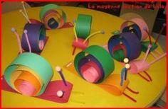 snail craft idea for kids preschoolactivities.com