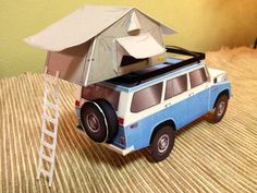Free rooftop tent model available here: http://papercruiser.com/?page_id=611=7