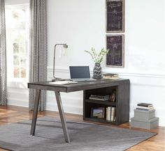 H467H1 In By Ashley Furniture In Simi Valley, CA   Raventown   Grayish  Brown 2 Piece Home Office Set | Home Stuff | Pinterest | Simi Valley And  Office Set