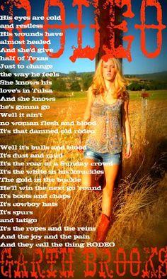 Country Music Lyrics #Garth Brooks
