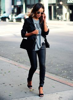 Blazer and shirt