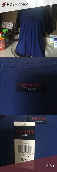 Men's t shirt Men's short sleeve T shirt Tommy Hilfiger Shirts Tees - Short Sleeve