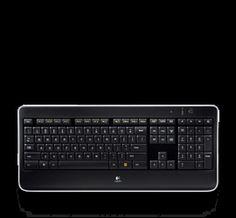 Logitech PL  - Wireless Illuminated Keyboard K800