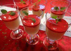 Edel's Mat & Vin : Hvit sjokolademousse med bringebærculie