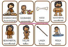 vocabulario-prehistoria-2 6th Grade Science, Shared Reading, Teaching History, Stone Age, Home Schooling, Social Science, Pre School, Archaeology, Homeschool