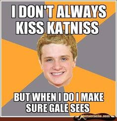 We've rounded up 20 of the best memes from 'The Hunger Games' including Advice Peeta, Sad Gale, and Advice Katniss. Hunger Games Memes, The Hunger Games, Hunger Games Catching Fire, Hunger Games Trilogy, Katniss Everdeen, Katniss And Peeta, Johanna Mason, Juegos Del Ambre, The Doctor
