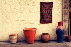 Pottery house in Rabat