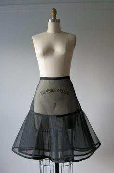 petticoat.diy | vintage 1950s sheer petticoat | DIY