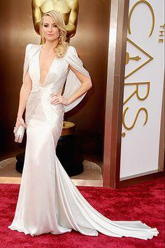 Kate Hudson, in Atelier Versace.