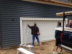 September 11, 2014 Garage door installed