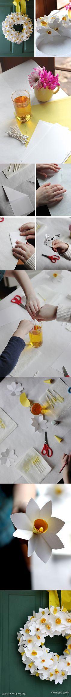 jarní dekorace - věnec / spring decoration