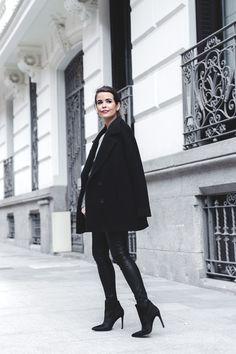 Sita Murt Coat & leather pants