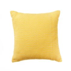 Yellow/White Home Republic Bermuda - I BIG love the texture of this cushion! And of course - it's yellow!