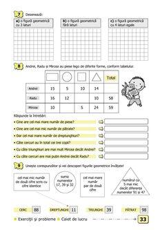Clasa I : Matematică şi explorarea mediului. Clasa I. Partea II - (E2) After School, Homeschooling, Math, Words, Geometry, Rome, Math Resources, Horse, Homeschool