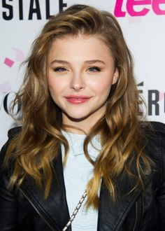 Chloe Grace Moretz :) I love her! She's a great actress and I just love her! :)))