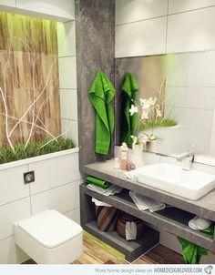 15 bathroom storage ideas