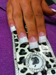 HOW are these a new trend?? These were the prettiest ones I saw and they are still so tacky. Duck feet nails??? Eww.