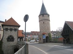 Bad Homburg, Germany - on my way to an audition