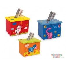 Pusculita Lemn Wooden Toy Boxes, Wooden Toys, Money Box, Toy Craft, Facial Tissue, Bunt, Storage Chest, Decorative Boxes, Puzzle