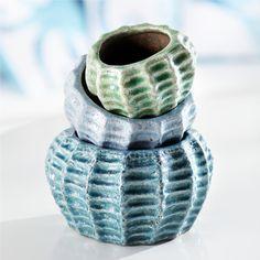 Pacifica Ceramic Planters
