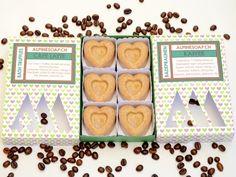Kaffee - Badepralinen / Café Latte - Bath Truffles x Truffles, Latte, Soap, Breakfast, Kaffee, Morning Coffee, Truffle, Bar Soap