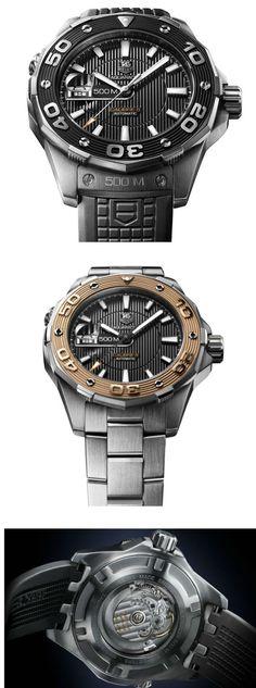 Tag Heuer Aquaracer 500M Calibre 5 Dive Watch
