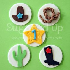 Cowboy Party // Rodeo Party  // Cowboy Cupcakes