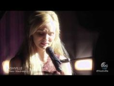 ▶ Nashville - Clare Bowen (Scarlett) sings Black Roses to her mother - YouTube (made me shed a tear, feel her pain)
