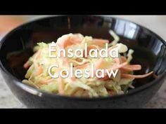 Coleslaw o Cole Slaw ( Ensalada de Col )