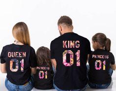 Resultado de imagen para sudaderas king queen princess