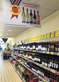 Ignacio Gómez Escobar / Consultor Marketing / Retail: Experimentos de Aldi: abren una tienda de vino en Londres. | Retail in Detail
