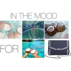 """""""In the mood for...COCONUTS"""" by busta on Polyvore Featuring the Urban Story clutch from BÙSTA #busta #bustabags #leatherclutch #leather #streetstyle #perforated #blue #embroidery #folklore #handmade #clutch #metalstrap #metalchain #silver #watch #cronograph #quartz #sport #coconuts #coconut #summer #fresh"""
