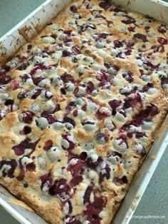 Glazed cranberry almond squares warm from the oven. Cranberry Almond, Cranberry Recipes, Holiday Recipes, Cranberry Squares Recipe, Cranberry Bars, Christmas Recipes, Holiday Baking, Christmas Desserts, Christmas Baking