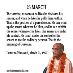 march month quotes prabhupada - Google Search