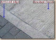 Image result for brushed concrete floor