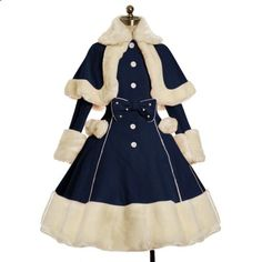 Vestidos Vintage, Vintage Dresses, Victorian Dresses, Old Fashion Dresses, Fashion Outfits, Dress Fashion, Moda Lolita, Kleidung Design, Kawaii Clothes