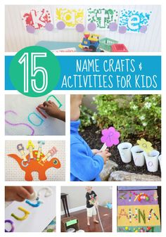 Toddler Approved!: 15 Name Crafts and Activities for Kids
