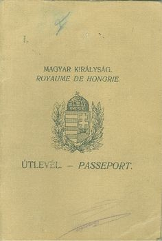 Útlevél - Passeport., Magyar Királyság. Royaume de Hongrie 1933. Heart Of Europe, My Roots, High Society, Budapest Hungary, Illustrations And Posters, Family Pictures, Vintage World Maps, Nostalgia, The Past