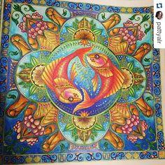 Instagram media desenhoscolorir - Que maravilhoso! By @pattyalr ・ #johannabasford #lostocean #oceanoperdido #desenhoscolorir