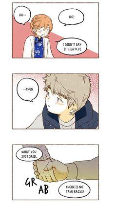 Super secret Super Secret Webtoon, The Boy Next Door, Webtoon Comics, Cute Comics, Boom Boom, Anime Couples, Fnaf, Manhwa, Fangirl