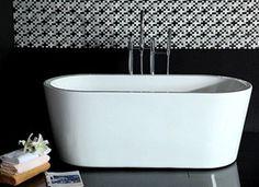 Kylpyamme Monte 1701, 320l, 1580x740mm, valkoinen, BL170-40005, 1 Bathroom Toilets, Montana, Bathtub, Standing Bath, Flathead Lake Montana, Bathtubs, Bath Tube, Bath Tub, Tub