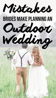 When planning a beautiful outdoor wedding, there are a few crucial mistakes that could ruin your entire ceremony. See what they are on SHEfinds. wedding tips 10 Mistakes Brides ALWAYS Make When Planning An Outdoor Wedding Wedding Ceremony Ideas, Outdoor Wedding Decorations, Wedding Advice, Budget Wedding, Wedding Trends, Fall Wedding, Dream Wedding, Outdoor Weddings, Wedding Ceremonies
